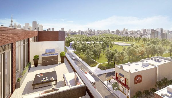 New Condo project at 875 Queen St E, Toronto, ON M4M 1J2