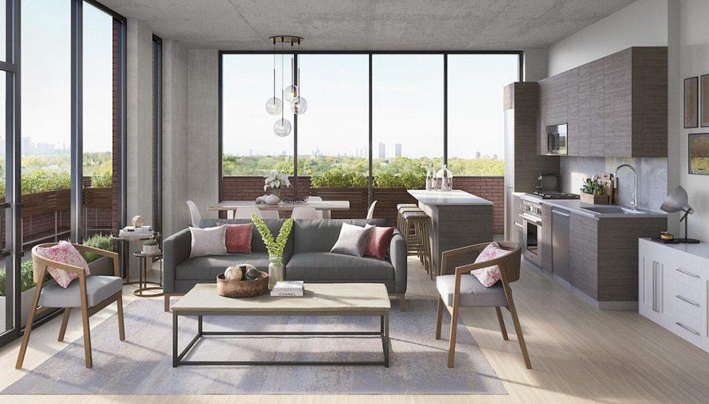 Modern condominium with indulgent amenities