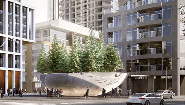 Pre-construction condominium proposed in Toronto Yorkville neighbourhood.