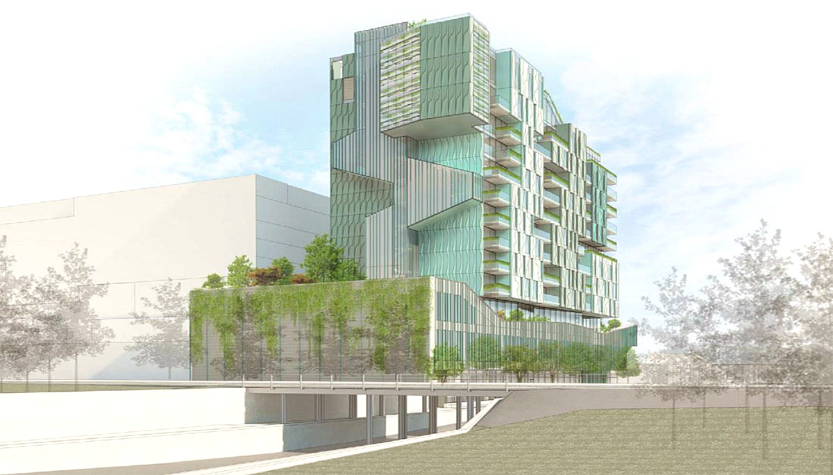 13-Storey Pre-construction condos building in Christie Pits