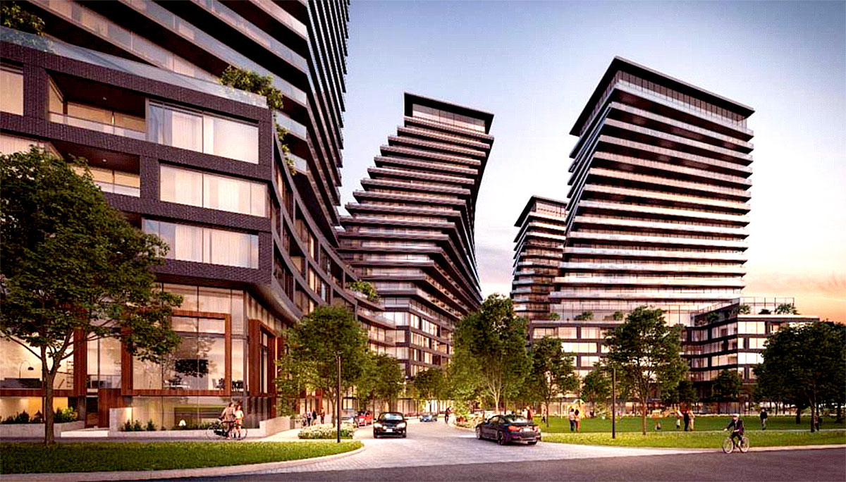 New Condo project at 900 The East Mall, Etobicoke, ON M9B 6K2
