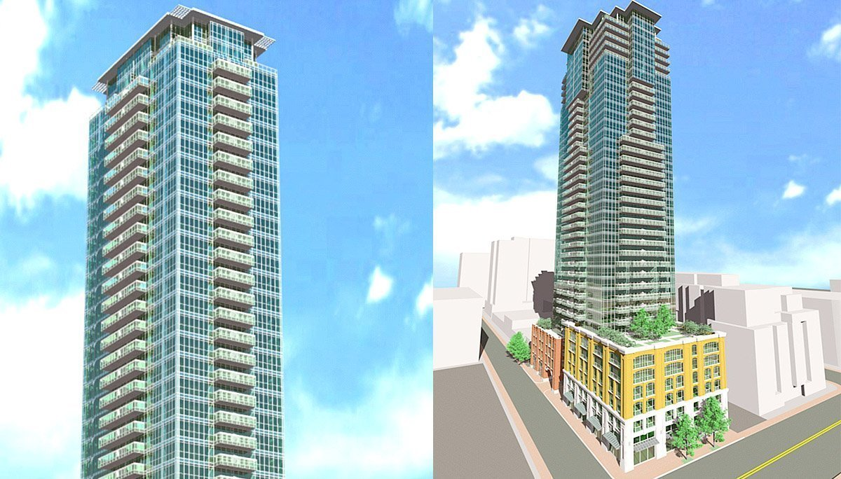 45 storey-high mixed-use residential condo project in Toronto's Entertainment District