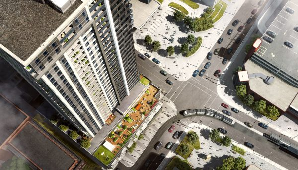 This 33 storeys making it the Kitchener city's tallest