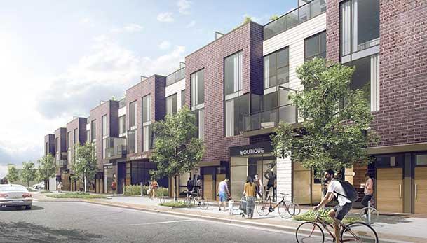 New condo development at Dorset Park Neighbourhood