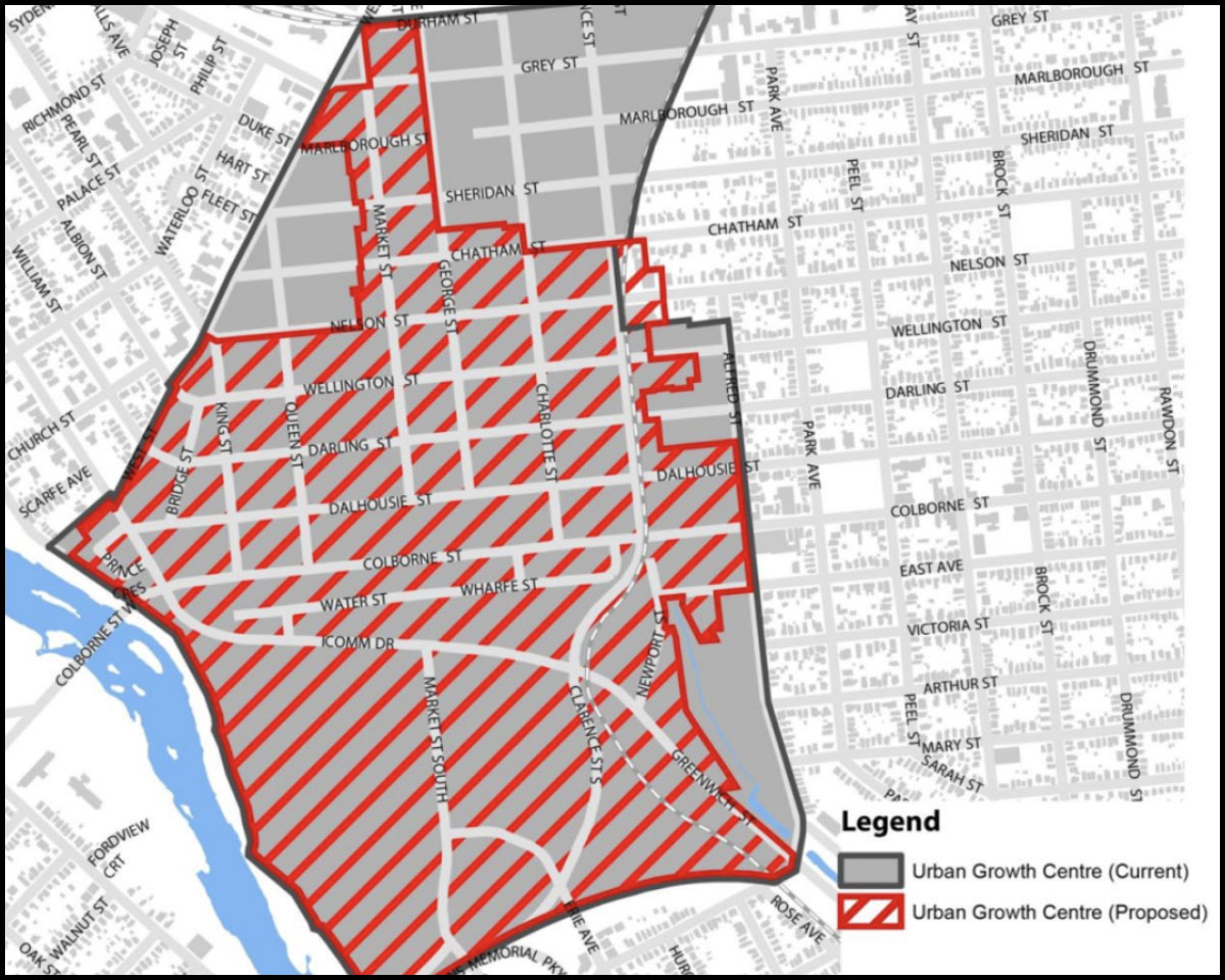 Downtown Brantford Growth Plan