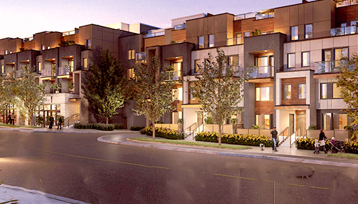 New Townhome Development Project at 1455 O'Connor Dr, Toronto, ON M4B 2V5