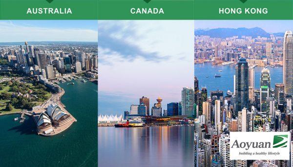 International Development by Aoyuan