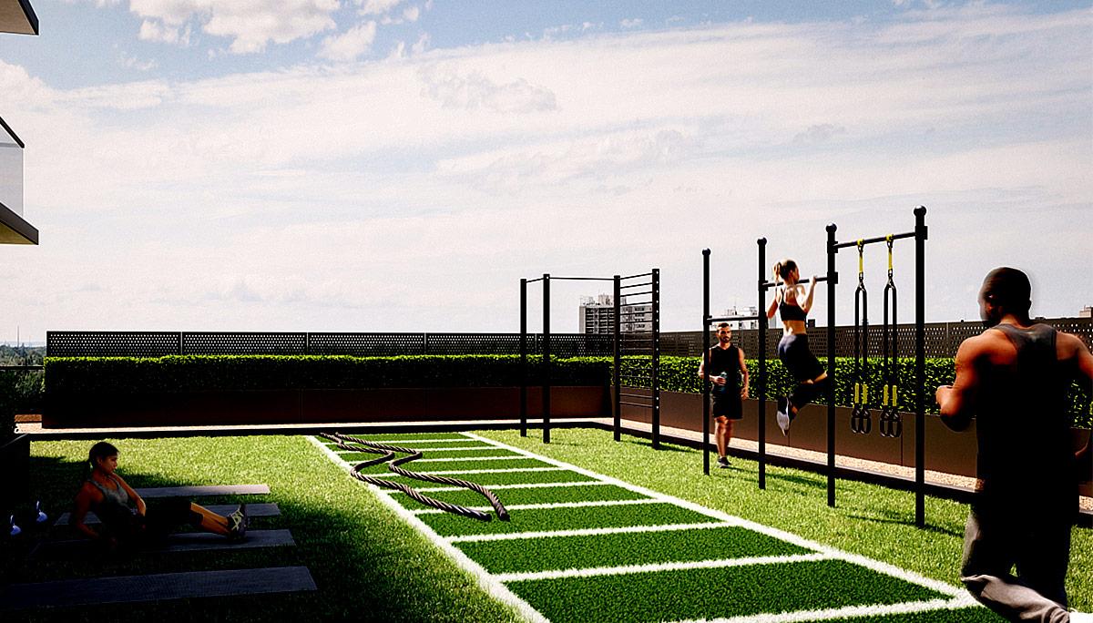 Over 22,000 square-feet of indoor amenities and outdoor amenitie