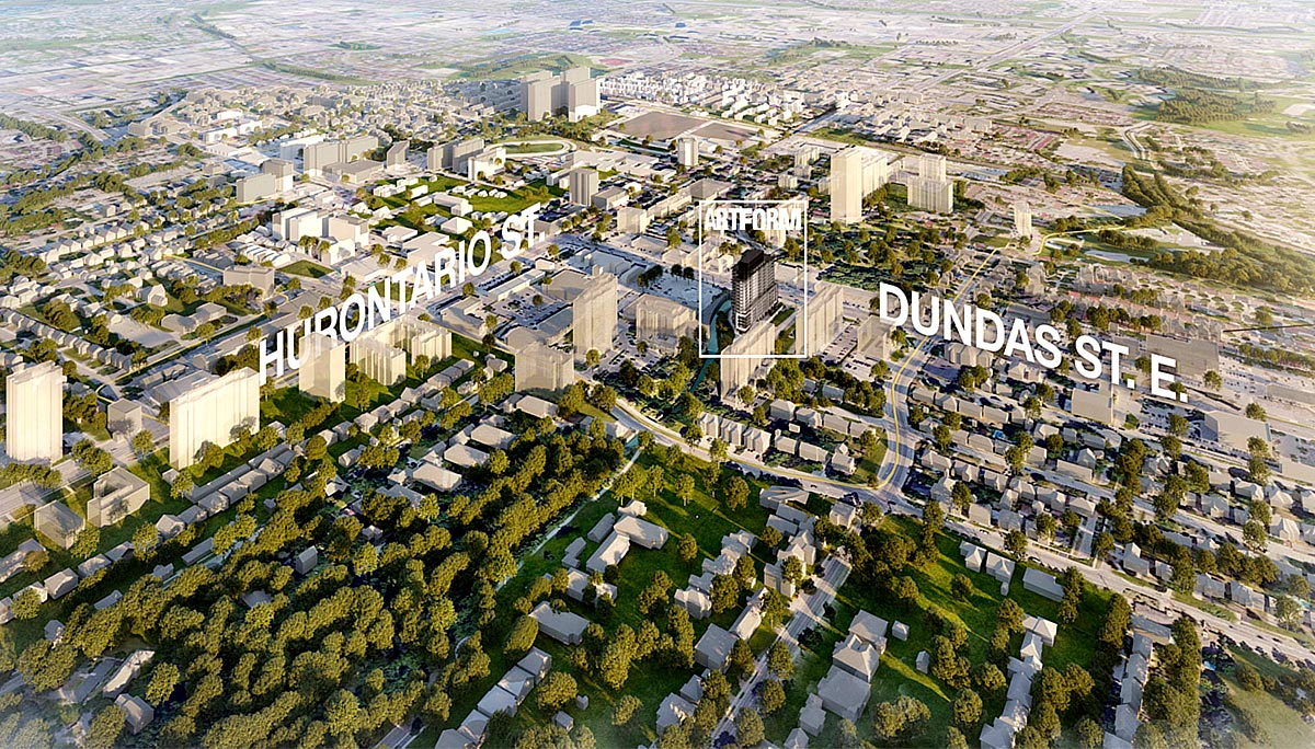 New Condo Project at 86 Dundas St E, Mississauga, ON L5A 1W4