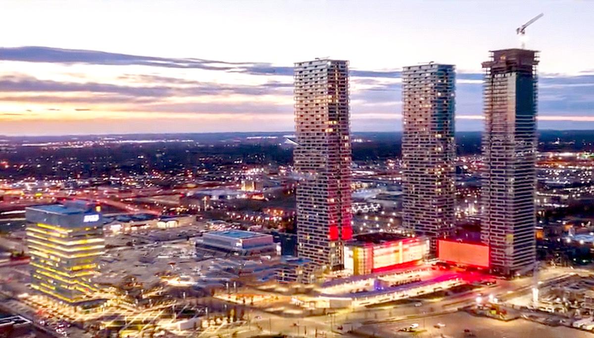 New mixed-use condominium development in SmartVMC