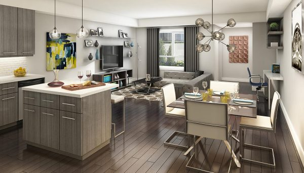 2-bedroom layouts across the board, making them ideal for both growing families