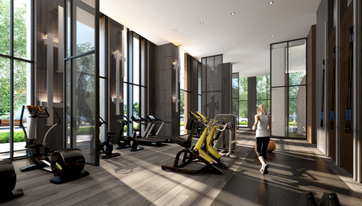 The ground floor will house the fitness facilities