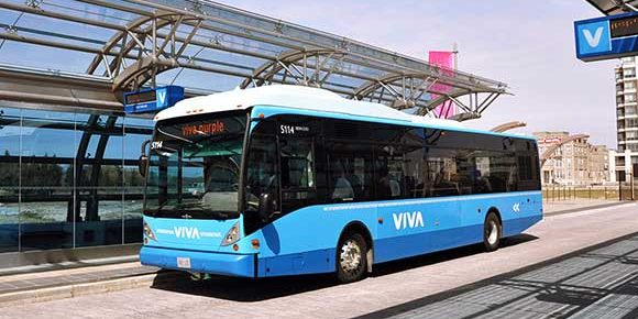 Viva, First rapid transit service