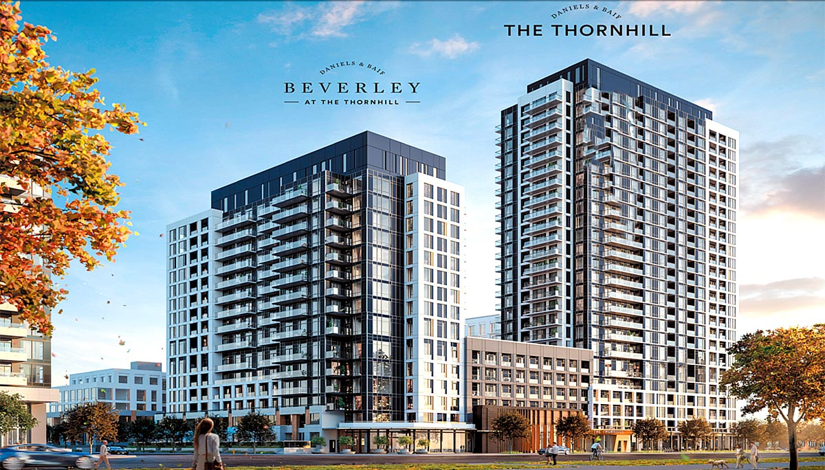 New Condo Project located at 2 Beverley Glen Blvd, Thornhill, ON