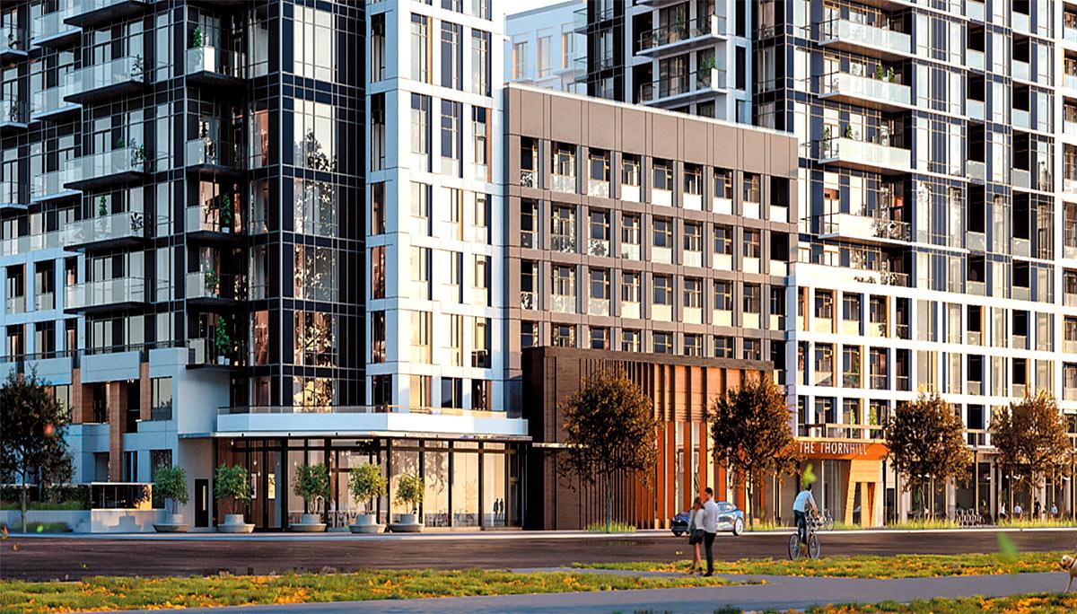 New Condominium, north of Centre Street and Bathurst Street