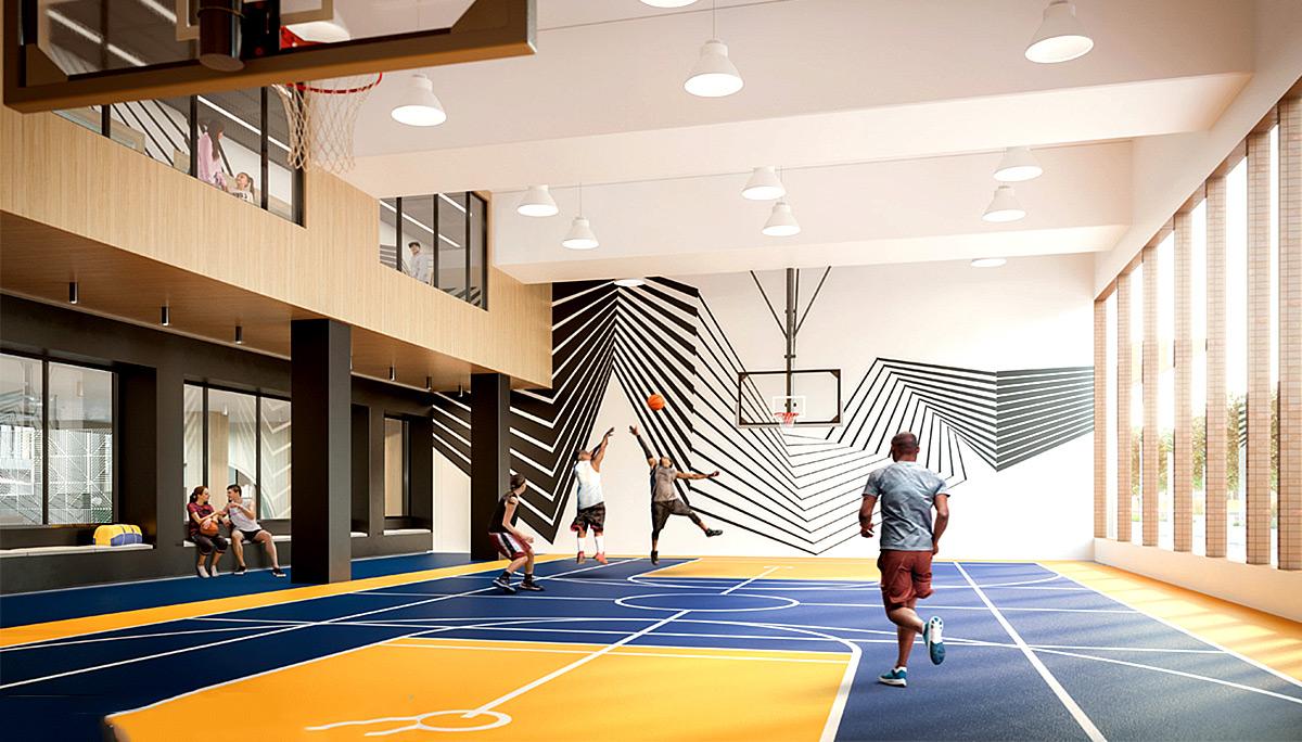 Fitness centre and Gymnasium