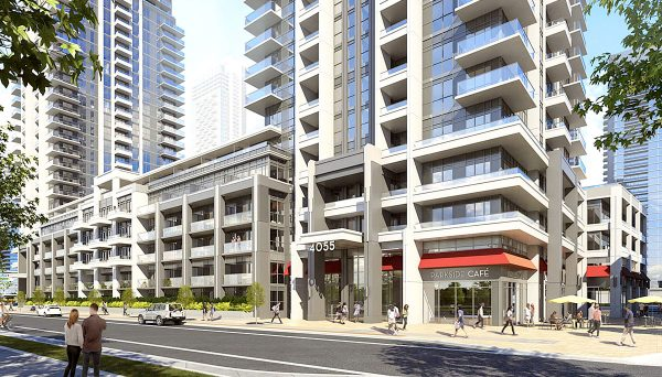 Condo Project at 465 Burnhamthorpe Rd W., Mississauga, ON L5B 0G4