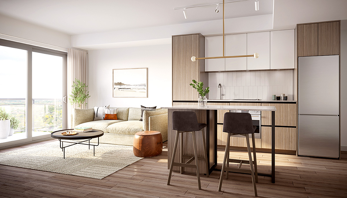 Condos will include family-sized suites ranging from one-bedroom, two-bedroom and three-bedroom layouts.