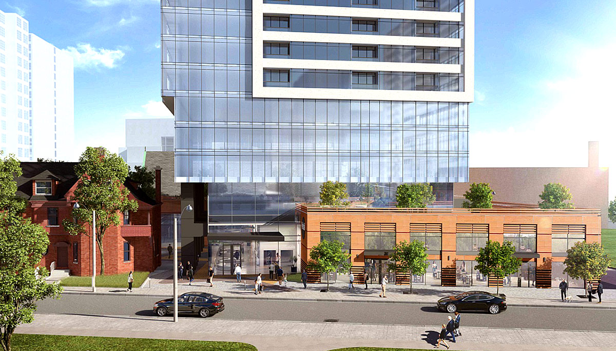 Condo Project at 609 Sherbourne St, Toronto, ON, M4X 1L7
