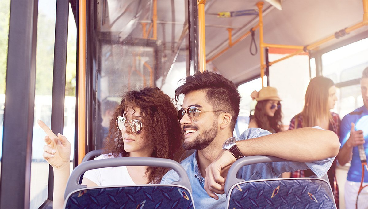 Burlington transit is the main bus service that serves the community