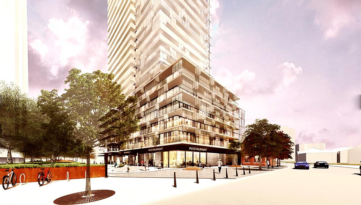 A new luxury condominium in Burlington Waterfront