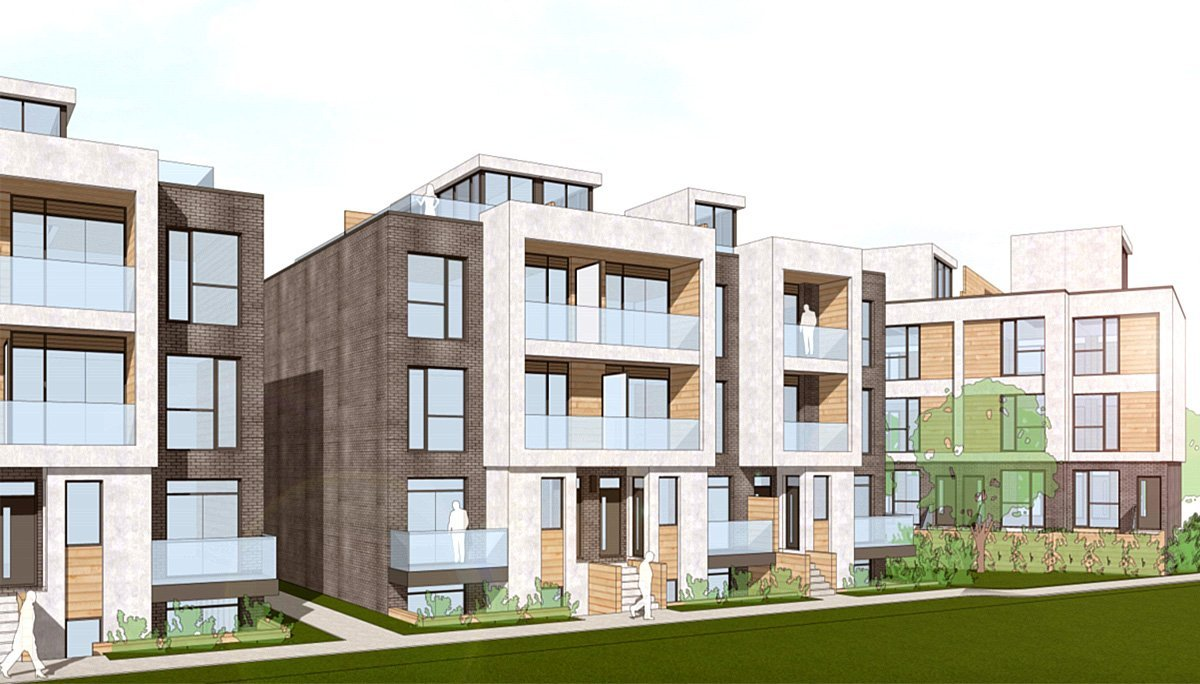 New Townhome Develeopment at 168 Clonmore Dr, Scarborough, ON M1N 1Y1