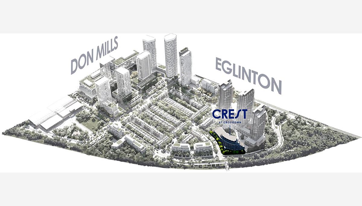 New Condo Projet at 1150 Eglinton Ave E, North York, ON M3C 1H7