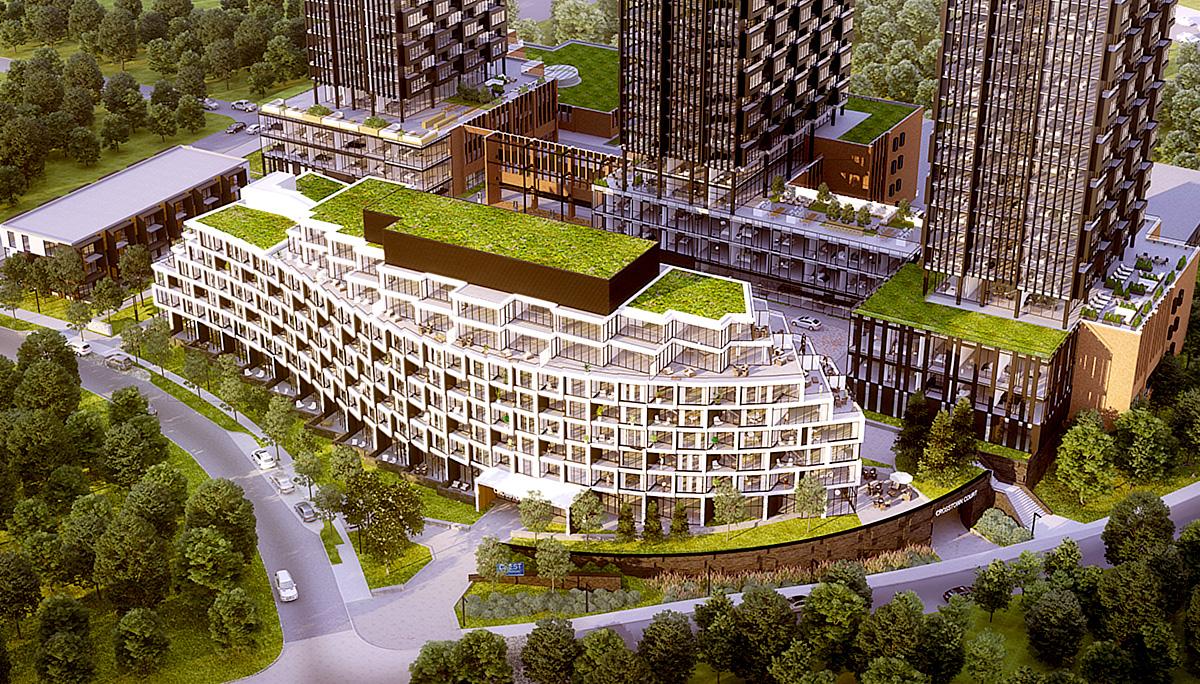 New 8-storey condominium with a total of 191 luxury suites