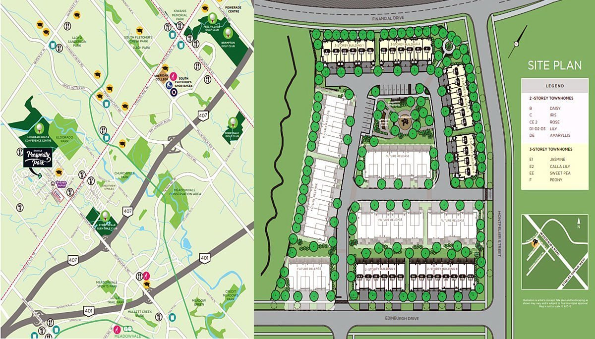 New Condo Town Project at 26 Montpelier St, Brampton, ON L6Y 0C3
