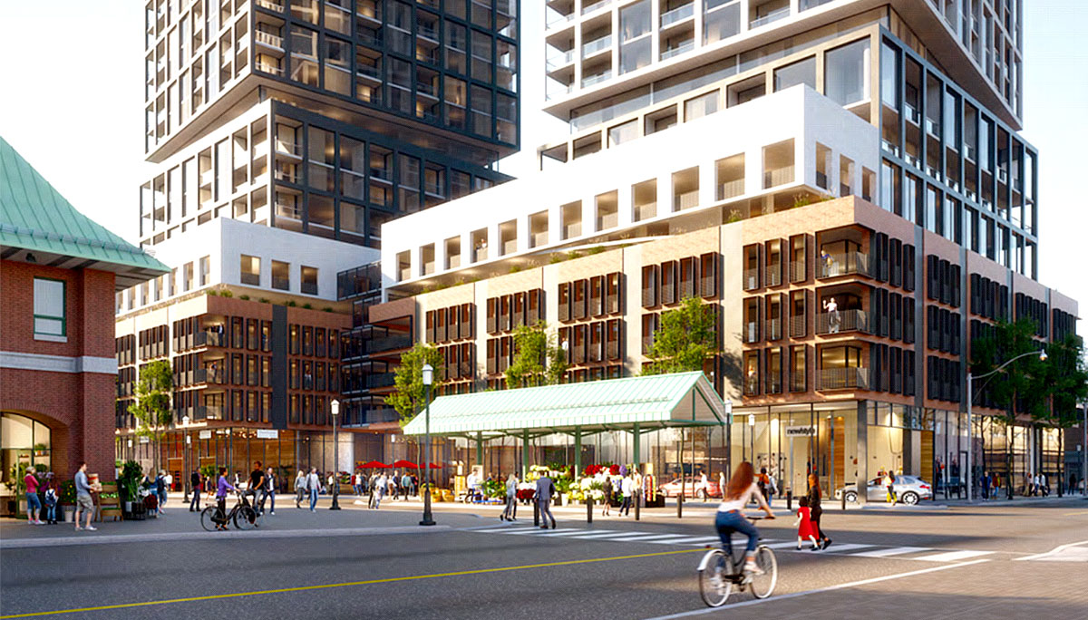 This development will have a total of 2,263 square metres of amenities.