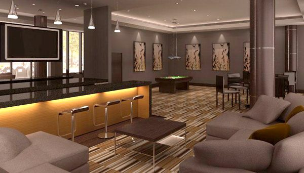 Expansive Party Room