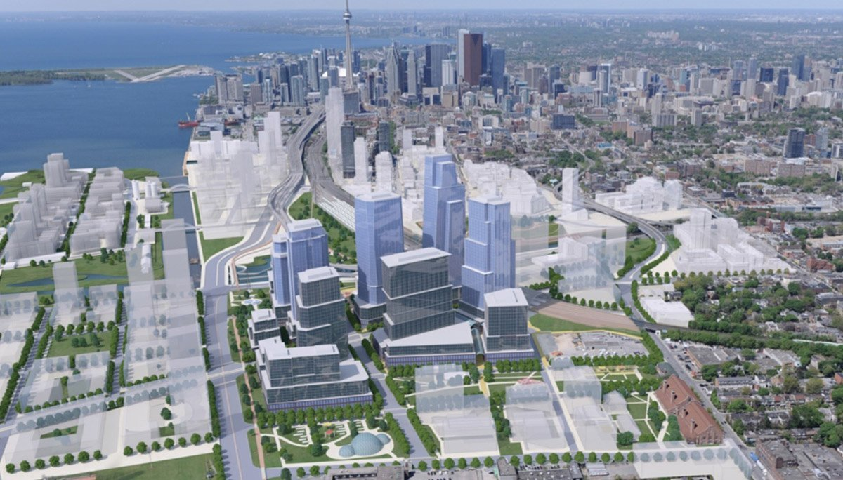 A New Multi-Modal Transit Hub To The East of Downtown