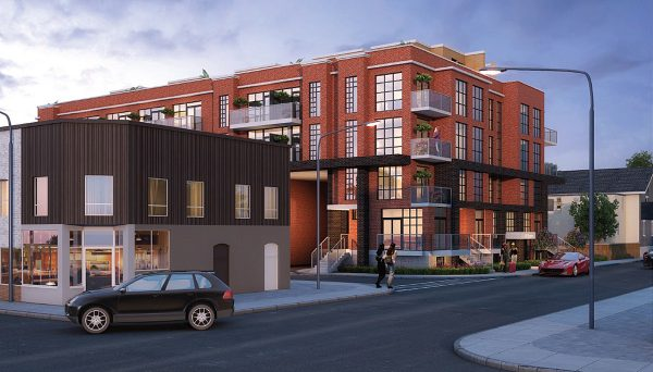 New Condo Development in a community that attracts families