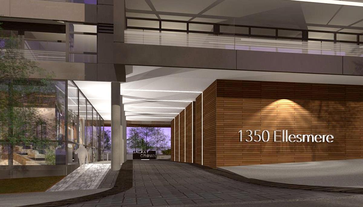 New Luxury Mid-rise Condominium in the Scarborough City Centre neighbourhood.