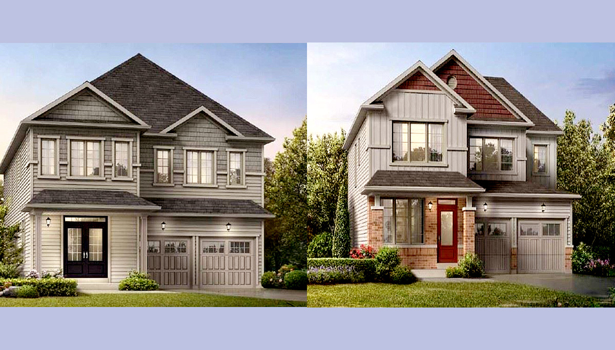 Traditional freehold towns, and single detached homes that will be available on spacious 36' and 40' lots.