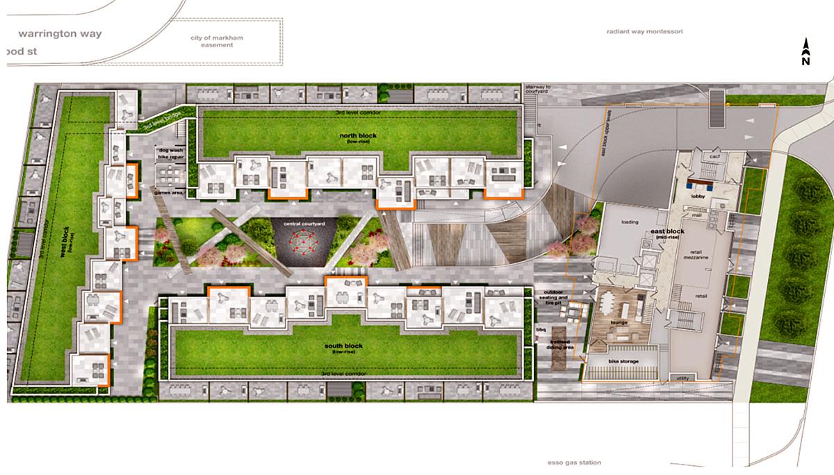 New Townhome Developmentw at 9704 McCowan Rd, Markham, ON L3P 3J3