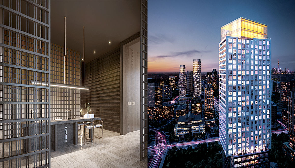 New High-Rise Condominium with incredible Sky Restaurant