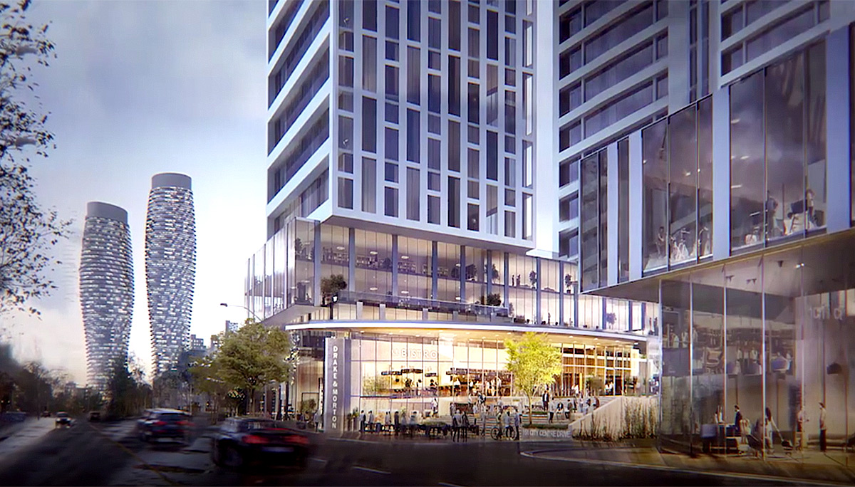 New Condo Project at 151 City Centre Dr, Mississauga, ON L5B 1M7