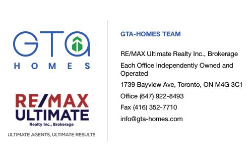 Contact GTAHomes