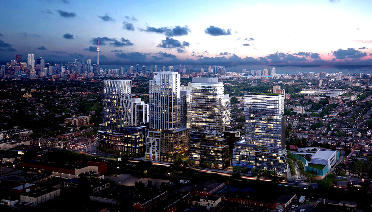 New Modern High-rise Condominium in the Wallace Emerson neighbourhood