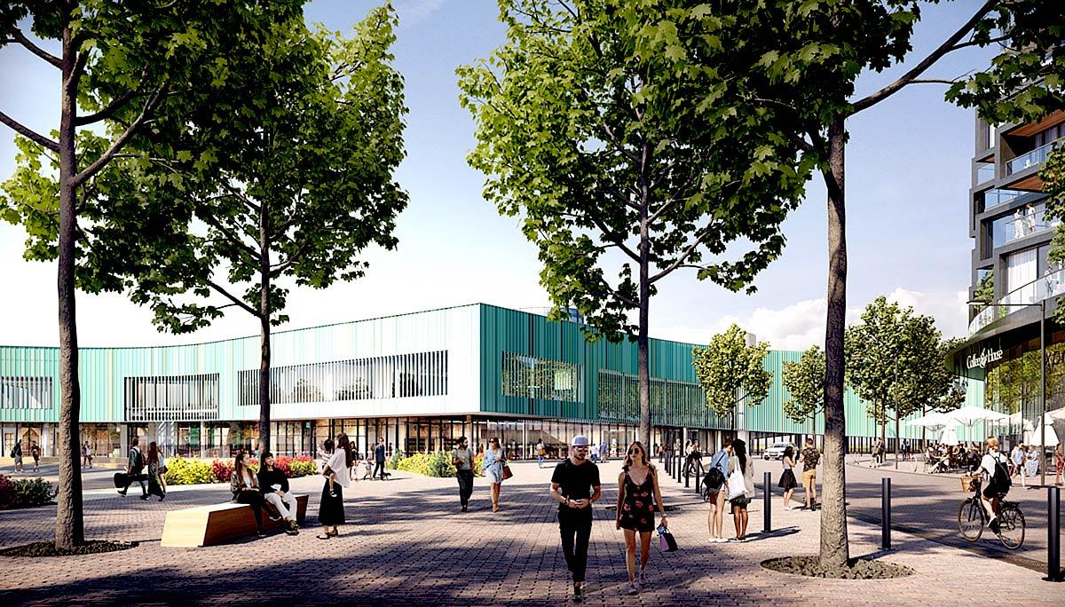 A brand new 95,000 sq.ft modern community centre