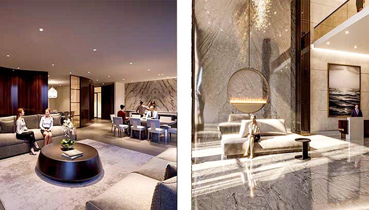 Luxury Syle Lobby with concierge desk concierge desk 24 hours Concierge desk
