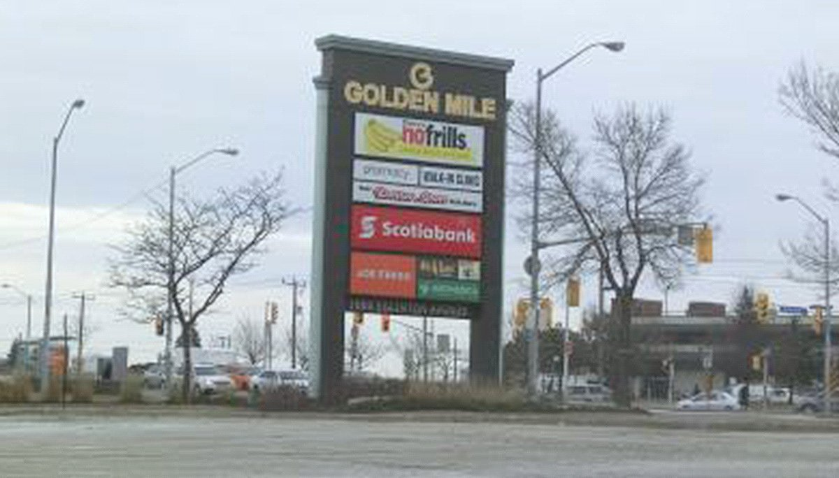 Golden Mile Neighbourhood is a popular shopping destination