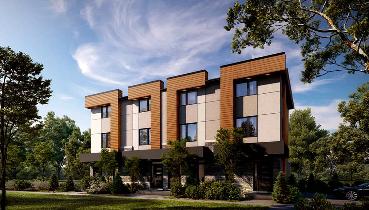 New Towhome Project at 215 Major Mackenzie Dr E, Richmond Hill, ON L4C 1H6