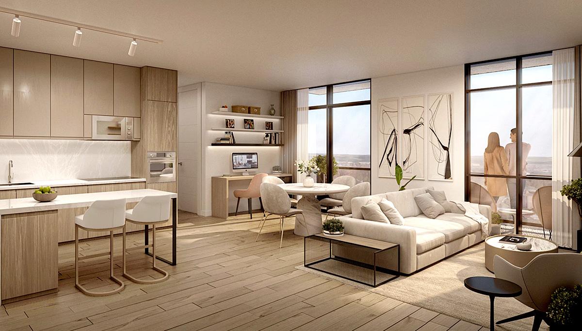 New 18-storey boutique condominium Development