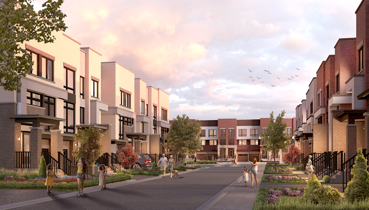New family-friendly Townhome development located at Conlin Rd E & Wilson Rd N, Oshawa, ON L1K 0C8