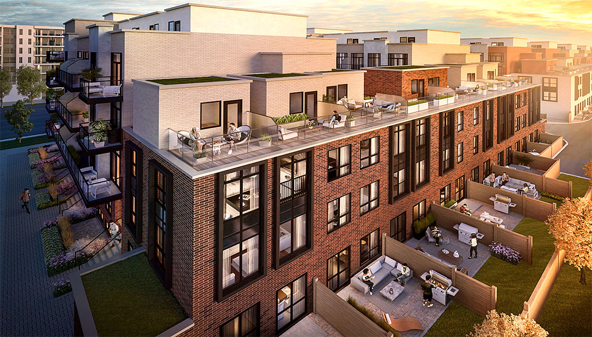 New Townhome Development for Families at 847 Sheppard Ave W, North York, ON M3H 2T4