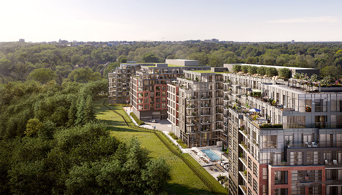 New Mid-Rise luxury Condominiumin Highland Creek Neighbourhood