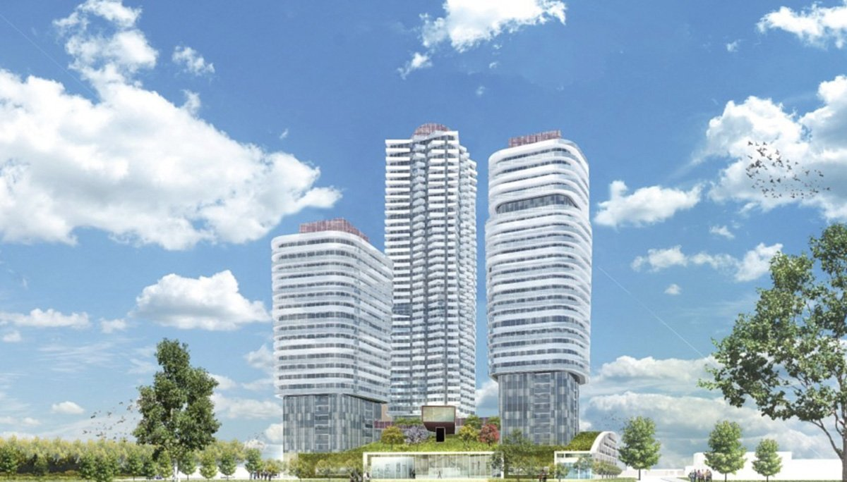 A high-rise condominium project by the Remington Group