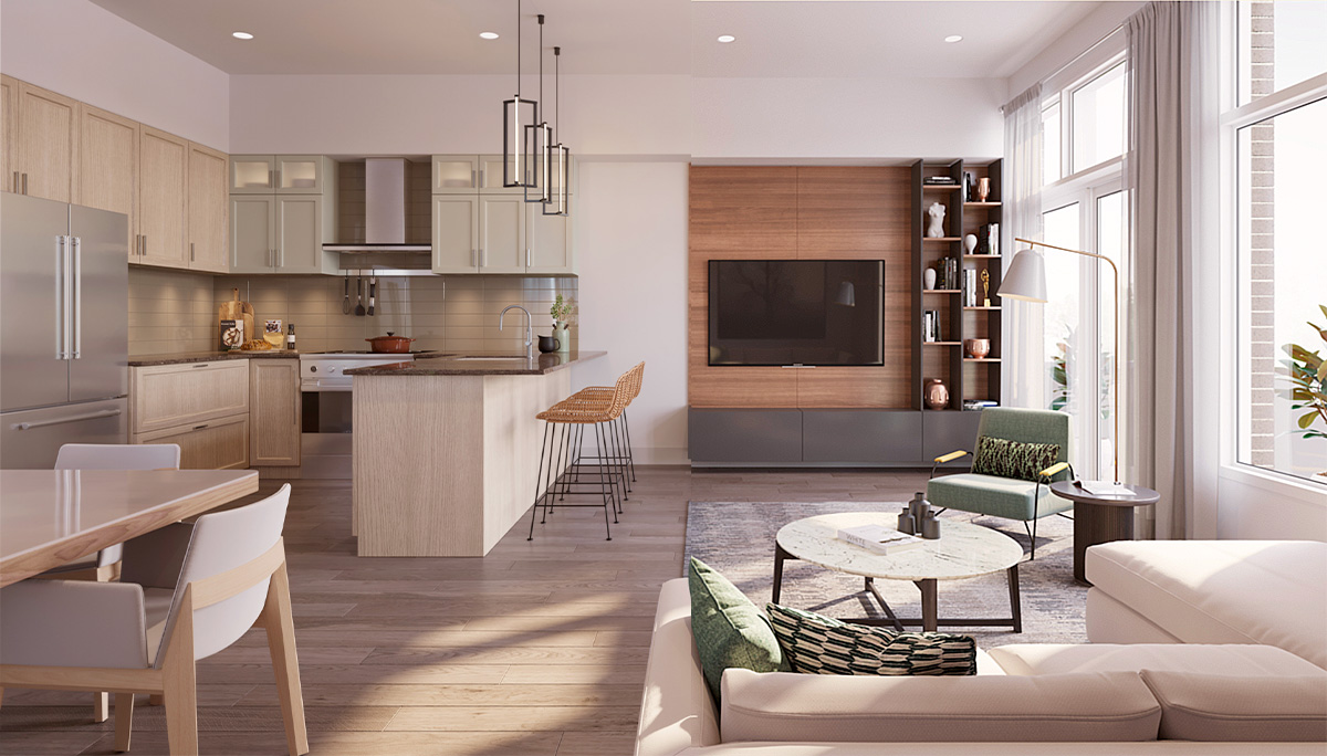 New Townhome Project in Leslie Street and 19th Avenue